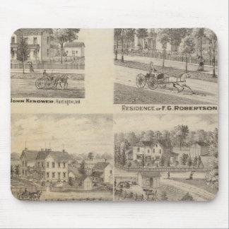 Residence of John Kenower, Huntington Mouse Mat