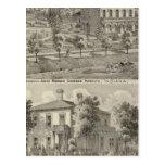 Residence of Judge Horace Corbin Postcard