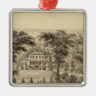 Residence of Marshall McDonald Christmas Ornament