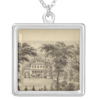Residence of Marshall McDonald Silver Plated Necklace