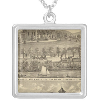 Residence of WH Mooney Silver Plated Necklace