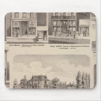 Residences and Businesses in Austin, Minnesota Mouse Mat