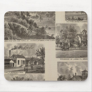 Residences and Factory in Minnesota Mouse Mat