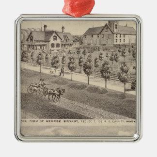 Residences and Farm, Minnesota Christmas Ornament