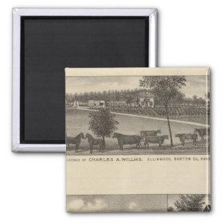 Residences and Farms, Edgerton, Kansas Magnet