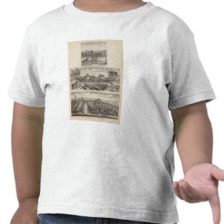 Residences and Farms Wellington Kansas Tee Shirts