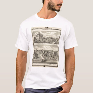 Residences and school in Garden Grove T-Shirt