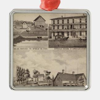 Residences, Farms and Businesses, Minnesota Christmas Ornament