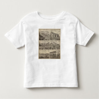 Residences, Farms, Brewery and Stable, Minnesota Toddler T-Shirt