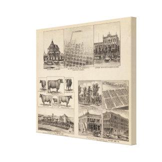 Residences in Kansas Canvas Print
