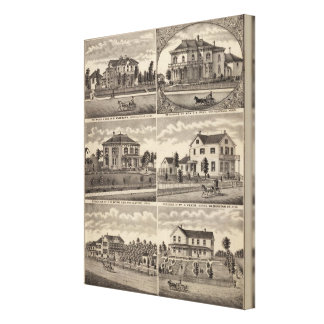 Residences in Minnesota Stretched Canvas Prints