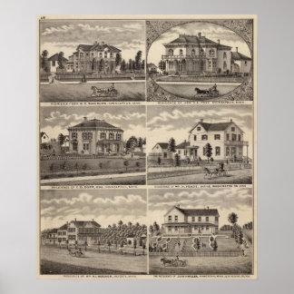 Residences in Minnesota Poster