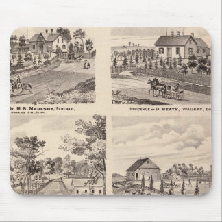 Residences in Redfield Mouse Mat