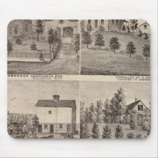 Residences in Rochester and in Dodge, Minnesota Mouse Mat
