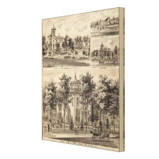 Residences, Minnesota Canvas Print
