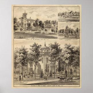 Residences, Minnesota Poster