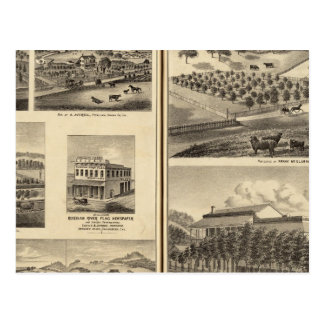 Residences of Frank McElarney, HF Gerkhardt Postcard