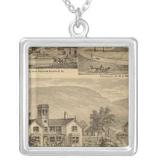 Residences of HJ Murdoch Silver Plated Necklace