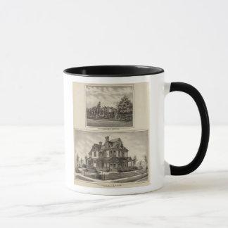 Residences of JR Fisher and MP Simpson, Kansas Mug