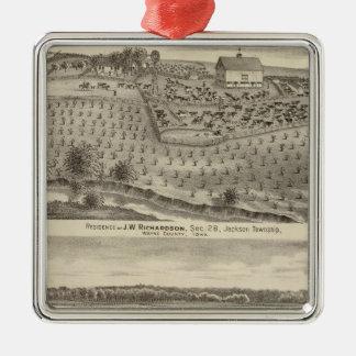 Residences of JW Richardson & JD McGlothlen Christmas Ornament