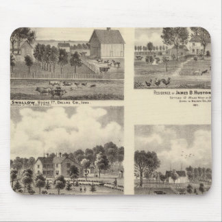 Residences of Swallow Mouse Pad