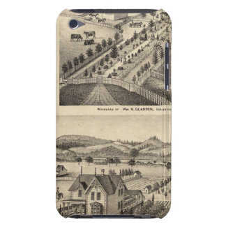 Residences of Wm N Gladden and Mrs Ina B Miller iPod Touch Covers