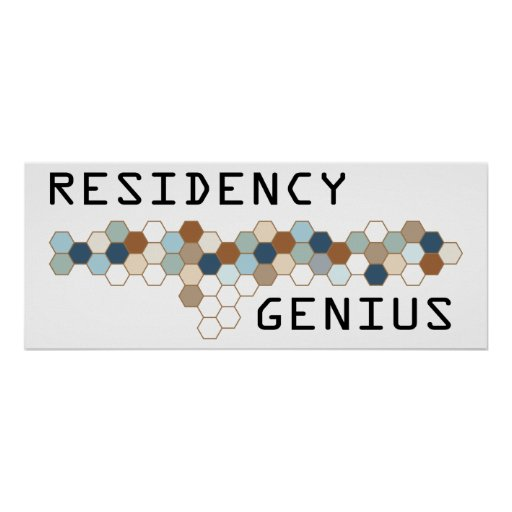 Residency Genius Posters
