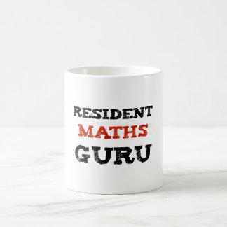 Resident Maths Guru Novelty Mug