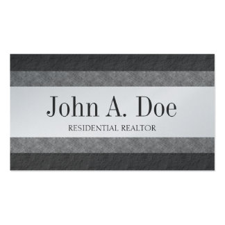 Residential Realtor Broker Marble & Slate Borders Business Card Templates
