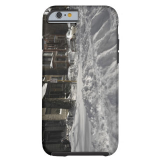 Residential urban (city) street on sunny winter 2 tough iPhone 6 case