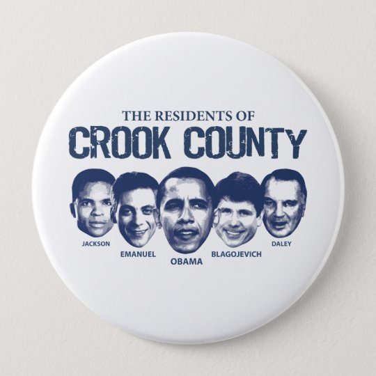 Residents of Crook County 10 Cm Round Badge