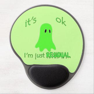 Residual Haunting - Green Ghost Gel Mousepad