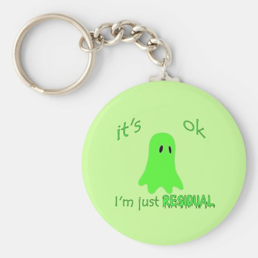 Residual Haunting - Green Ghost Keychains