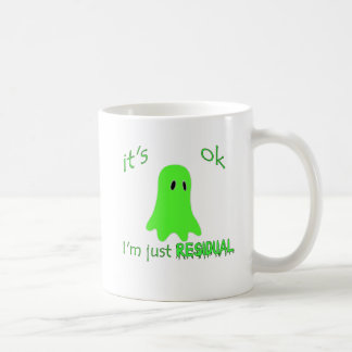 Residual Haunting - Green Ghost Coffee Mugs