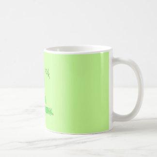 Residual Haunting - Green Ghost Coffee Mug