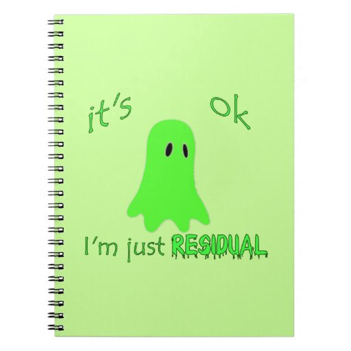 Residual Haunting - Green Ghost Notebooks