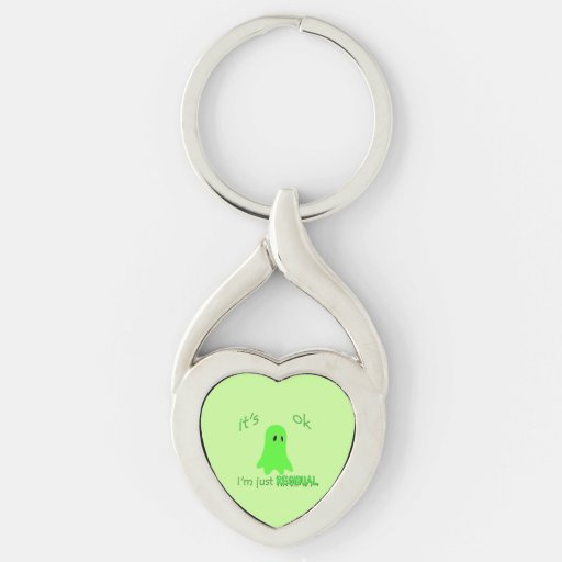 Residual Haunting - Green Ghost Keychain