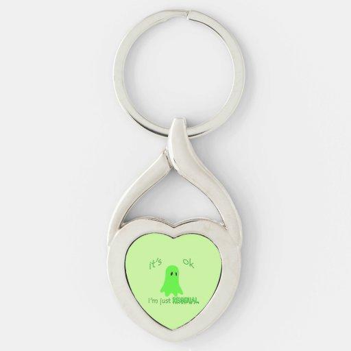 Residual Haunting - Green Ghost Keychain