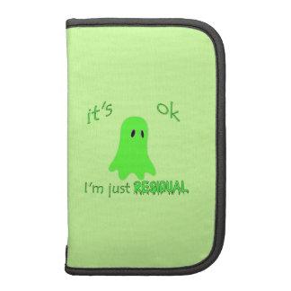 Residual Haunting - Green Ghost Organizers