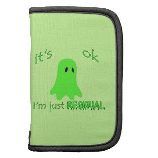 Residual Haunting - Green Ghost Folio Planner