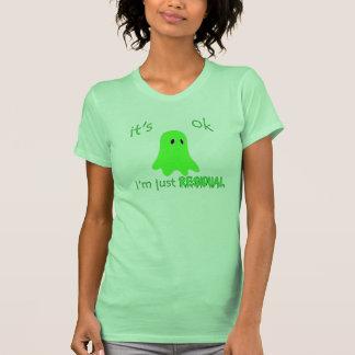 Residual Haunting - Green Ghost Shirts