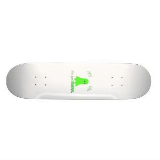 Residual Haunting - Green Ghost Custom Skateboard