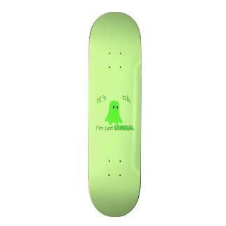 Residual Haunting - Green Ghost Skateboard Decks