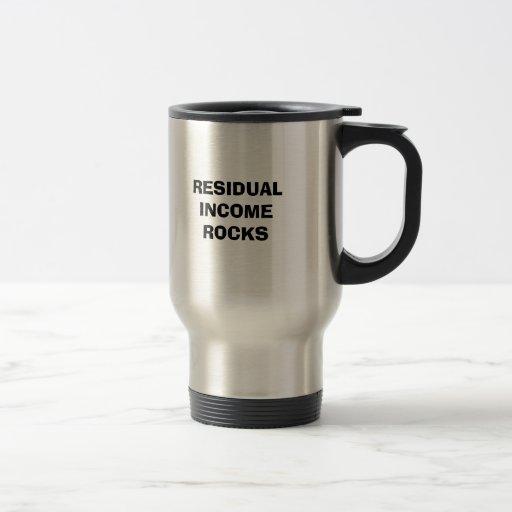 RESIDUAL INCOME ROCKS COFFEE MUG
