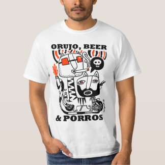 Residue, Beer & Porros, T-shirt