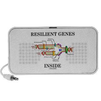 Resilient Genes Inside (DNA Replication) Travelling Speaker