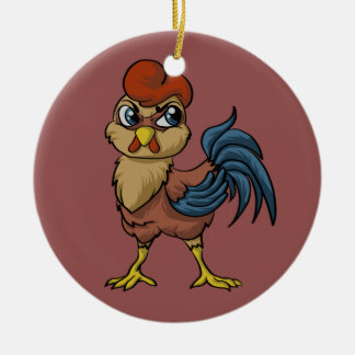 Resilient Rooster! Christmas Ornament