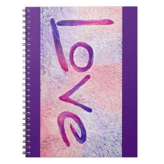 Resin Love Note Books