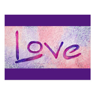 Resin Love Postcard