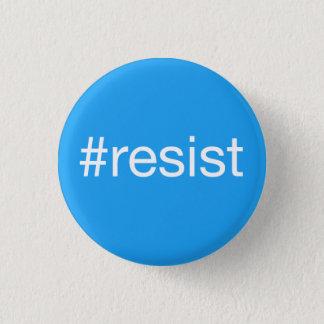 #resist 3 cm round badge